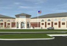 A school's building