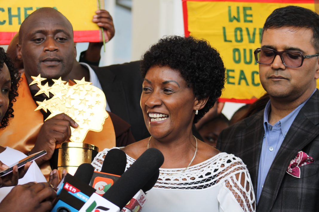 TSC Boss Dr Nancy Njeri Macharia/ File Photo