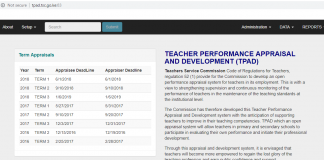 TPAD Tool For Teachers