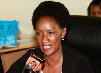 TSC Boss Dr Nancy Macharia.