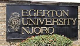 Egerton University premises at main Campus, in Njroro.