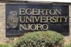 Egerton University premises at main Campus, in Njroro.