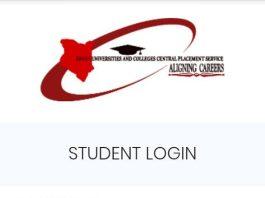 kuccps student portal Login