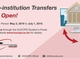 2019/ 2020 KUCCPS Admission letters for all universities and