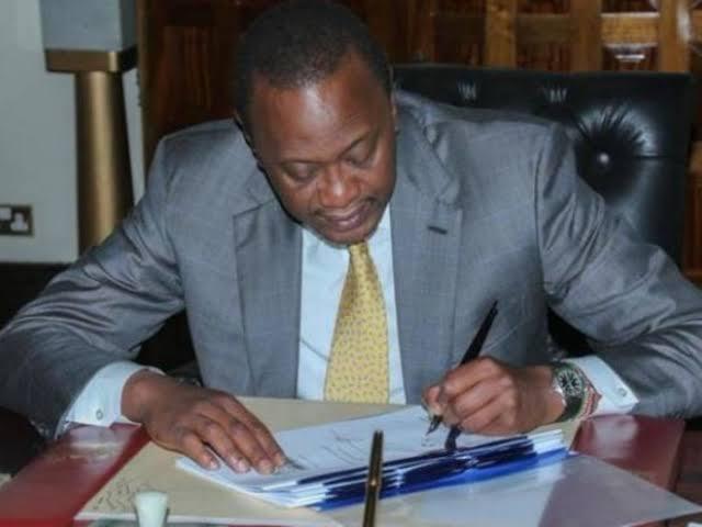 Photo- President Uhuru Muigai Kenyatta.