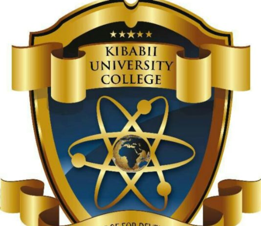 Kibabii University Logo.