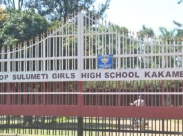 Bishop Sulumeti Girls Extra County Secondary School in Kakamega County; School KNEC Code, Type, Cluster, and Category