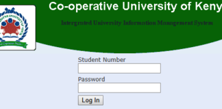How to Log in to Co-Operataive University of Kenya Students Portal online, for Registration, E-Learning, Hostel Booking, Fees, Courses and Exam Results