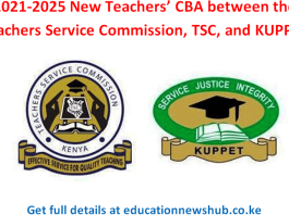 TSC and KUPPET November, 2019, retreat in Naivasha; This is what was discussed concerning the new 2021-2025 Teachers' CBA