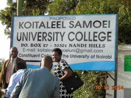 Koitalel Samoei University College Courses, location, requirements, fees, website and student log in portals