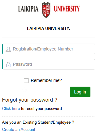 How to Log in to Laikipia University Students Portal online, for Registration, E-Learning, Hostel Booking, Fees, Courses and Exam Results