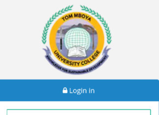 How to Log in to Tom Mboya University College Students Portal, http://student.tmuc.ac.ke, for Registration, E-Learning, Hostel Booking, Fees, Courses and Exam Results
