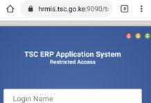 TSC Teacher Interns Vacancies application online at hrmis.tsc.go.ke