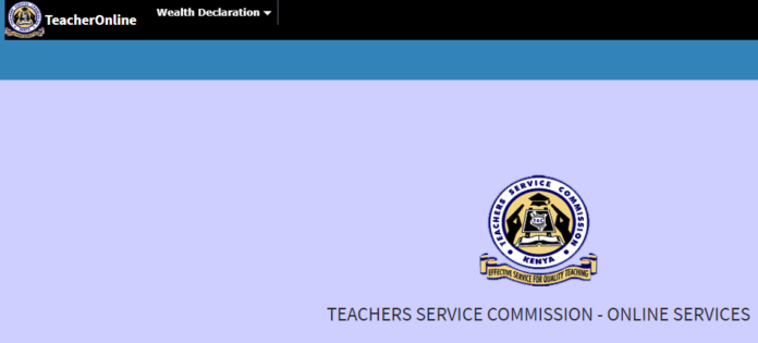 How to fill TSC Wealth Declaration form online 2019; Step by step guide: TSC News