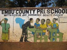All Primary schools in Embu County; School name, Sub County location, number of Learners