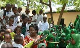 Primary schools in Garissa County; School name, Sub County location, number of Learners