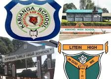 Sub County Secondary Schools in Kericho County; School KNEC Code, Type, Cluster, and Category
