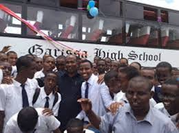 Sub County Secondary Schools in Garissa County; School KNEC Code, Type, Cluster, and Category.