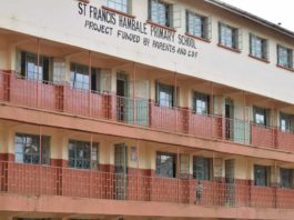 Primary schools in Vihiga County; School name, Sub County location, number of Learners