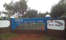 Primary schools in Nyeri County; School name, Sub County location, number of Learners