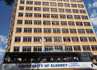 University of Eldoret; KUCCPS Approved Courses, Admissions, Intakes, Requirements, Students Portal, Location and Contacts