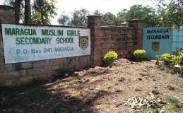 Sub County Secondary Schools in Murang'a County; School KNEC Code, Type, Cluster, and Category