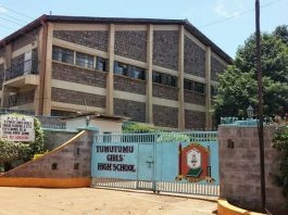 Tumutumu Girls' High Extra County Secondary School in Nyeri County; School KNEC Code, Type, Cluster, and Category