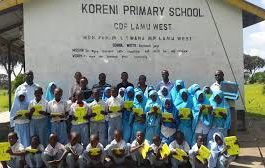 Primary schools in Lamu County; School name, Sub County location, number of Learners