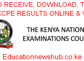 How to check, receive, KCSE 2019 results through knec sms code 20076; the knec online results portal