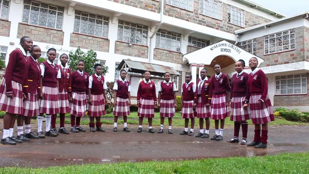 Sub County Secondary Schools in Nyandarua County; School KNEC Code, Type, Cluster, and Category