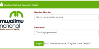 Mwalimu National SACCO members portal login, website and how to join