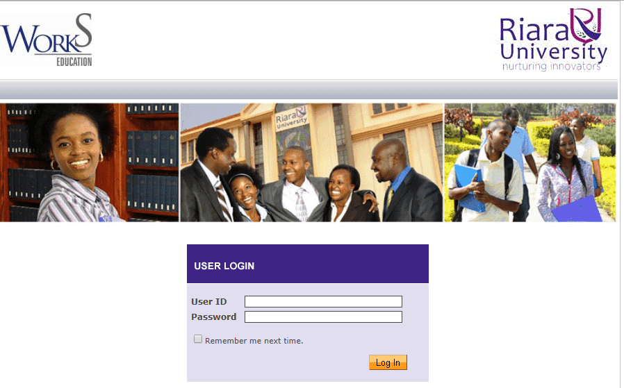 How to Log in to Riara University Students Portal, for Registration, E-Learning, Hostel Booking, Fees, Courses and Exam Results