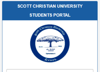 How to Log in to Scott Christian University Students Portal, https://studentportal.scott.ac.ke/login.php, for Registration, E-Learning, Hostel Booking, Fees, Courses and Exam Results
