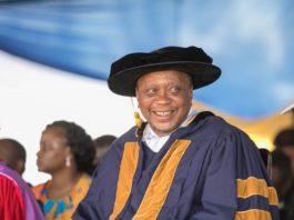 President Uhuru Kenyatta. Photo/ Courtesy.