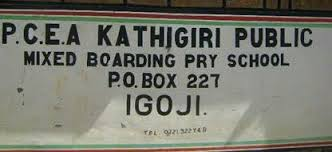Kathigiri boarding Primary School in Meru. The school produced one of the best students in the 2019 KCPE exam in the County