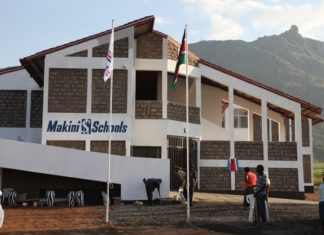 Makini School that produced the best 2019 KCPE candidate in Nairobi County.