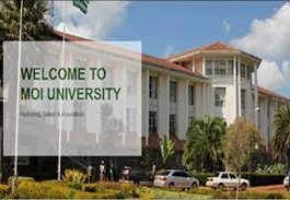 Moi University admission requirements, courses, student portal, fees structure
