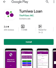 Tumiwa loans and App download; How to quickly get Mpesa loans and repay