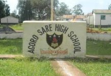 Agoro Sare Boys High school. This is one of the best extra county secondary school.