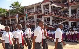 Agoro Sare High School: Student Life and Times at the school/ Photographic collation.