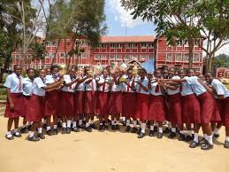 Number of KCSE candidates in all Girls' National schools; School KNEC code, name, category, type and cluster