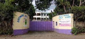 Entrance to Eastmore Secondary School in Nakuru.