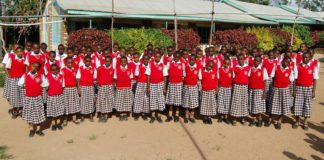 Emmanuel springs academy in Makueni county that produced the best candidate in the County.