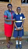 Flavian Onyango from St Teresa Chakol Girls Primary School in Teso South who was the second best student in the 2019 Kenya Certificate of Primary Education (KCPE) exams