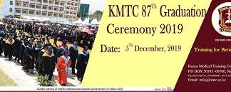 2019 KMTC graduation Ceremony; Graduation Date, Venue, Time, Fees and other details