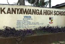 Kanyawanga High School: Student life and times at the school in pictures.