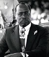 Former Second President of the Republic of Kenya, H.E Daniel Moi. Moi day has now been renamed Huduma Day.