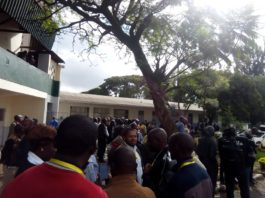 KCSE Physics paper 3 examiners stage go slow at Upper Hill High school over grievances.
