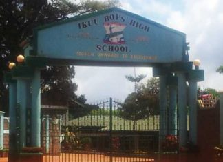 Ikuu Boys High School KCSE results and ranking of schools in Meru South Subcounty