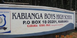 Kabianga High School